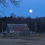 Super Moon Upstate New York by Jack Singer