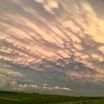 Iowa Summer Clouds by Bonnie Schroeder